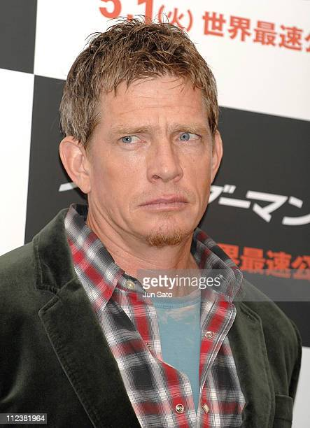 Thomas Haden Church during 'SpiderMan 3' Tokyo Press Conference Photocall at Roppongi Academy Hills in Tokyo Japan