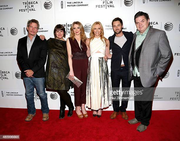 Thomas Haden Church Megan Griffiths Nina Arianda Toni Collette Ryan Eggold and Oliver Platt attend the 'Lucky Them' Premiere during the 2014 Tribeca...