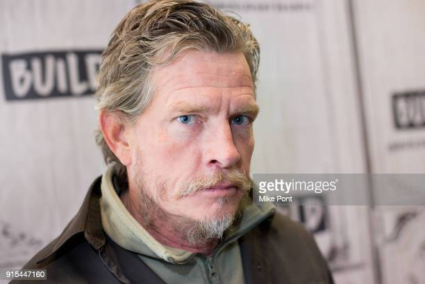 Thomas Haden Church visits Build Serises to discuss 'Divorce' at Build Studio on February 7 2018 in New York City