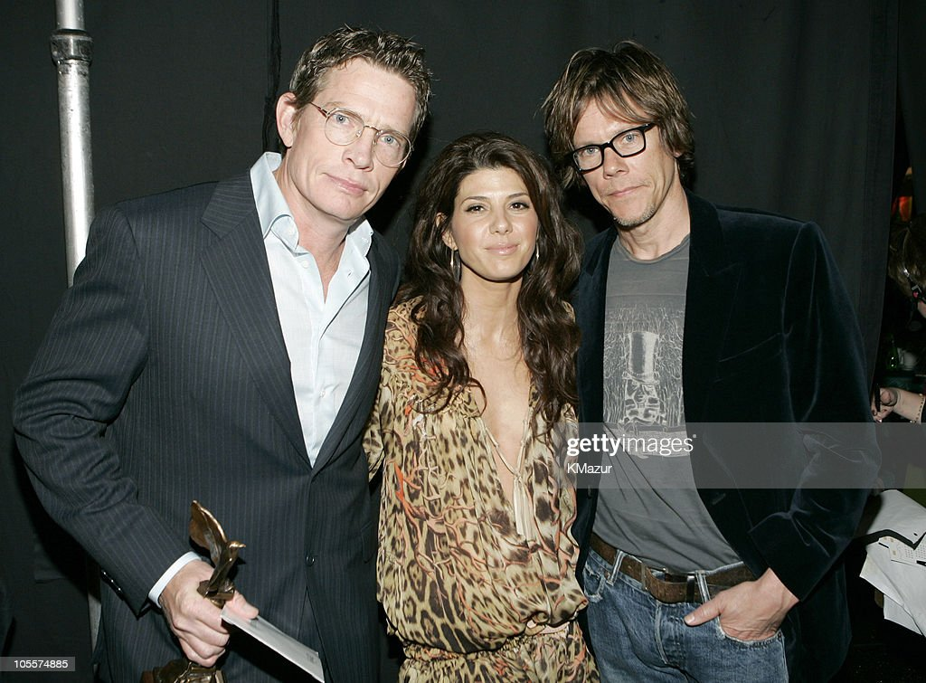 Thomas Haden Church, winner Best Supporting Male for 'Sideways,' Marisa Tomei and Kevin Bacon