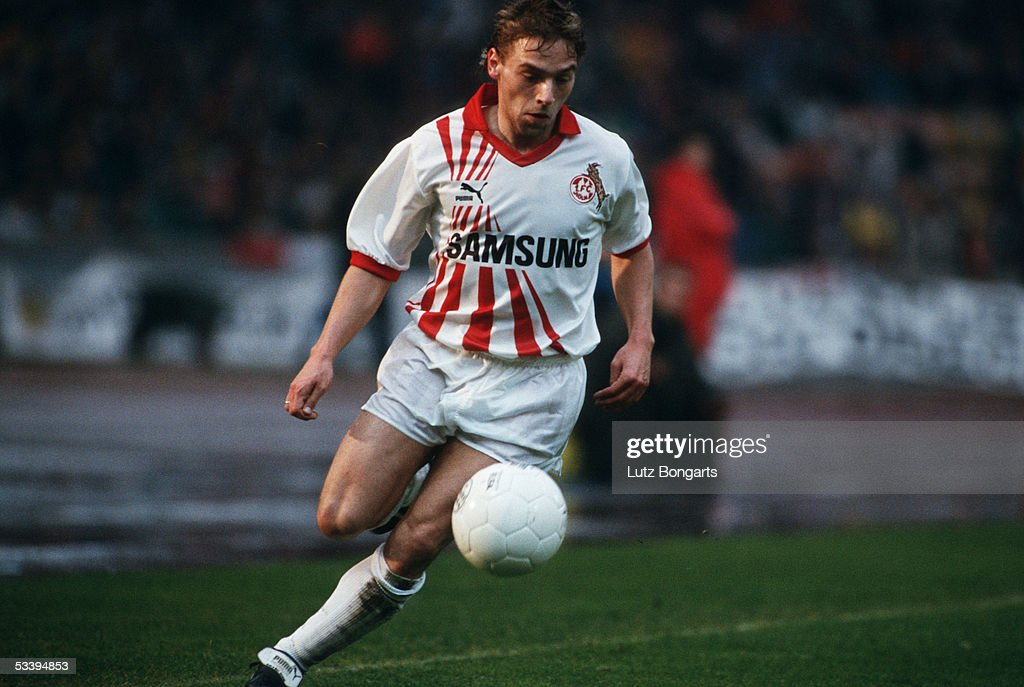 Thomas Haessler FC Cologne 1990 : News Photo