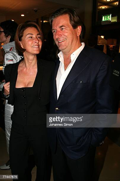Thomas Haffa and his wife Gabriele attend the grand opening of the Charles Hotel on October 22 2007 in Munich Germany