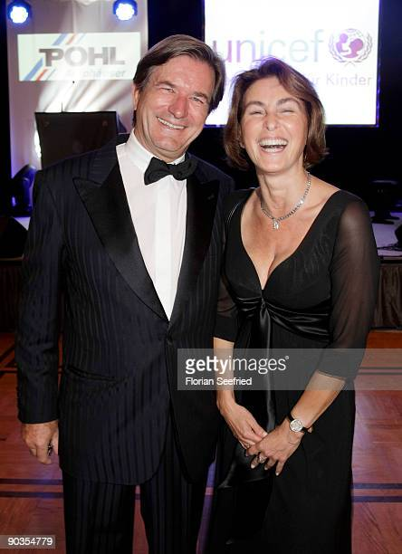 Thomas Haffa and wife Gabriele attend the 'UNICEFGala' at Park Hotel on September 5 2009 in Bremen Germany