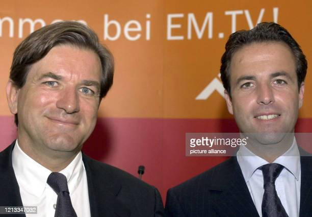 Thomas Haffa früherer Vorsitzender des Vorstands der EMTV Merchandising AG und seinen Bruder Florian Haffa der im Unternehmen als Finanzvorstand...