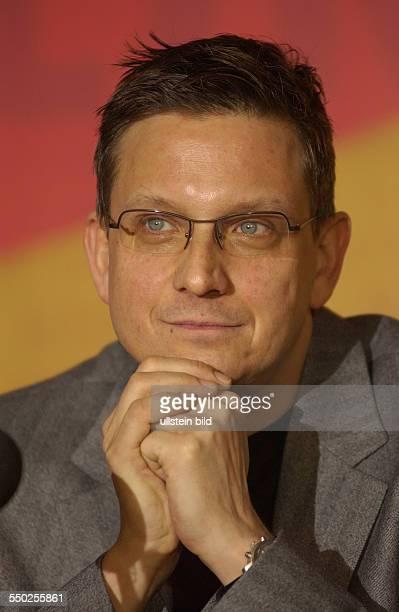 Thomas Hailer anlässlich der Pressekonferenz zu den bevorstehenden 54. Internationalen Filmfestspielen