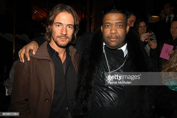 Thomas Hayo and attend Marchesa Fall 2006 Collection at Rainbow Room on February 8 2006 in New York