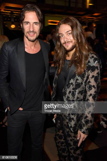 Thomas Hayo and Riccardo Simonetti attend the MICHALSKY StyleNite during the MercedesBenz Fashion Week Berlin Spring/Summer 2018 at eWerk on July 7...