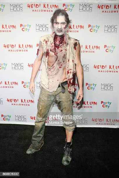 Thomas Hayo attends Heidi Klum's 18th Annual Halloween Party at Magic Hour Rooftop Bar Lounge on October 31 2017 in New York City