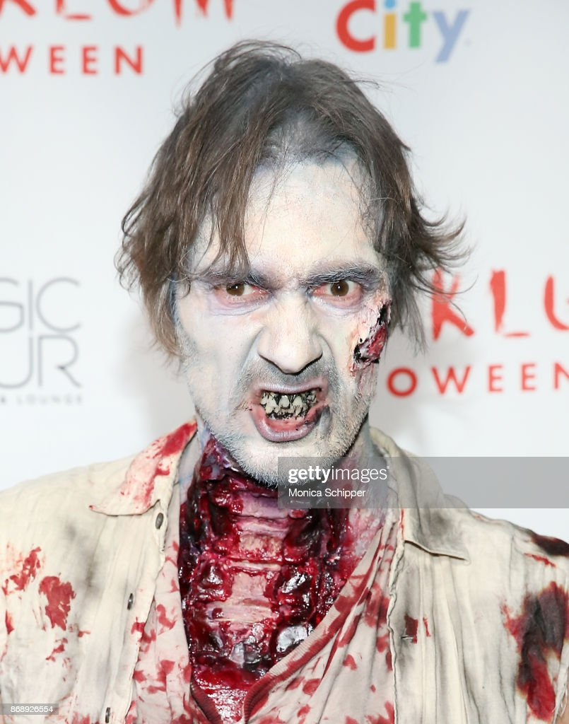 Thomas Hayo attends Heidi Klum's 18th Annual Halloween Party at Magic Hour Rooftop Bar & Lounge on October 31, 2017 in New York City.