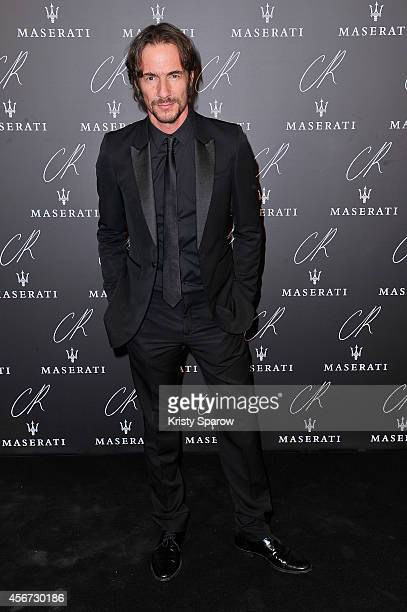 Thomas Hayo attends the CR Fashion Book Issue No5 Launch Party Hosted by Carine Roitfeld and Stephen Gan at The Peninsula Paris on September 30 2014...