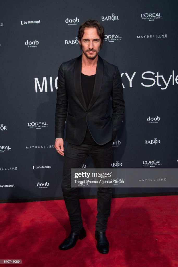 Thomas Hayo attends the MICHALSKY StyleNite ( Atelier Michalsky show) during the Mercedes-Benz Fashion Week Berlin Spring/Summer 2018 at e-Werk on July 7, 2017 in Berlin, Germany.