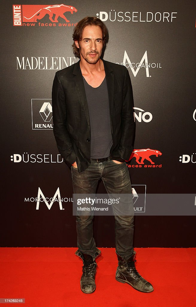 Thomas Hayo attends the New Faces Award Fashion 2013 at Rheinterrasse on July 22, 2013 in Duesseldorf, Germany.