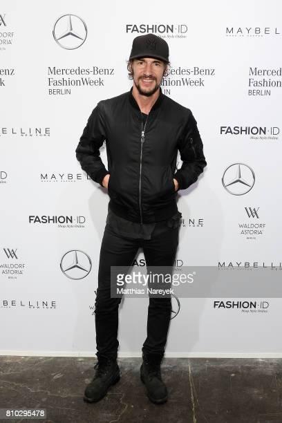 Thomas Hayo attends the Prabal Gulung Design show during the MercedesBenz Fashion Week Berlin Spring/Summer 2018 at Kaufhaus Jandorf on July 7 2017...