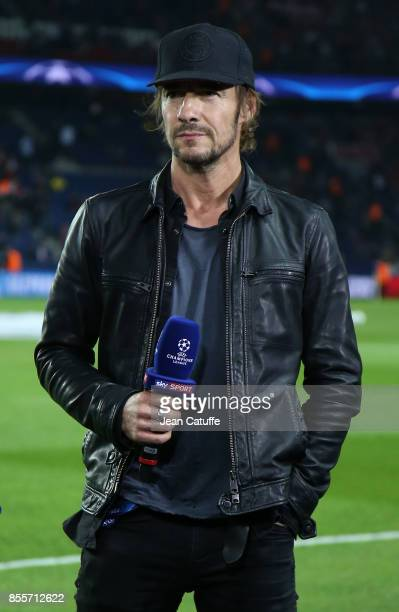 Thomas Hayo attends the UEFA Champions League group B match between Paris SaintGermain and Bayern Muenchen at Parc des Princes on September 27 2017...