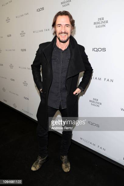 Thomas Hayo attends the William Fan Defile during 'Der Berliner Salon' Autumn/Winter 2019 at Knutschfleck on January 15 2019 in Berlin Germany