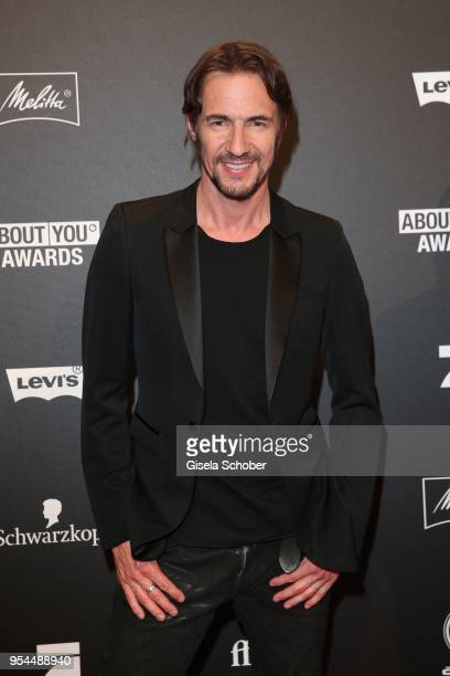 Thomas Hayo during the 2nd ABOUT YOU Awards 2018 at Bavaria Studios on May 3 2018 in Munich Germany