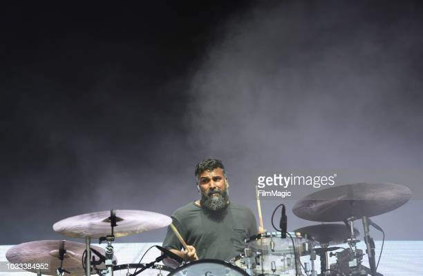 Thomas Hedlund of Phoenix performs on the Scissor Stage during day 1 of Grandoozy on September 14 2018 in Denver Colorado