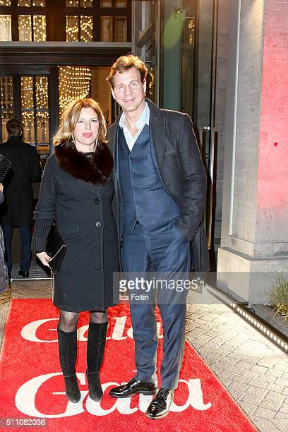 Thomas Heinze and guest attend the 'Berlin Opening Night Of GALA UFA Fiction on February 11 2016 in Berlin Germany