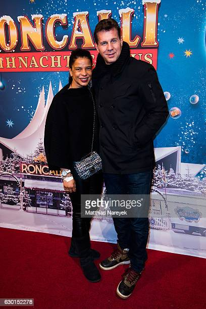 Thomas Heinze and his wife Jackie Brown attend the 13th Roncalli Christmas at Tempodrom on December 17, 2016 in Berlin, Germany.
