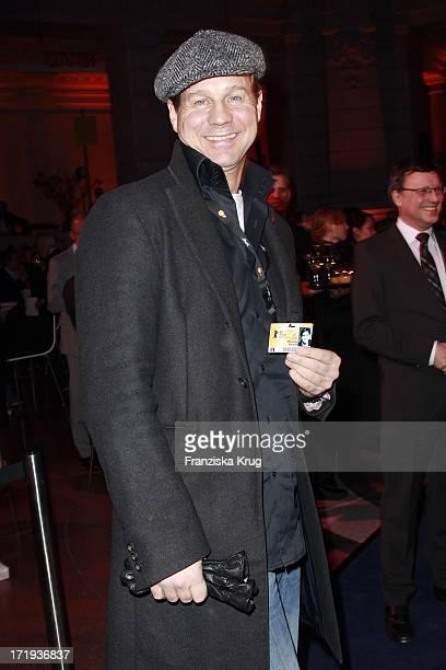 Thomas Heinze Bei Der Ard Blue Hour Opening Party Im Museum Für Kommunikation In Berlin