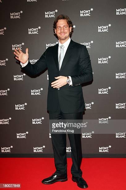 Thomas Heinze Bei Der Montblanc Gala Zur Writing Time Weltpremiere Von Montblanc Star Nicolas Rieussec Monopusher Chronograph In Der Palexpo Halle In...