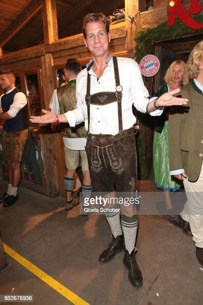 Thomas Heinze during the Oktoberfest at Theresienwiese on September 23 2017 in Munich Germany