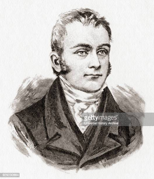 Thomas Henty 17751839 English pioneer of Australia father of Edward Henty the founder of Victoria Australia After a print dating from the 1880's
