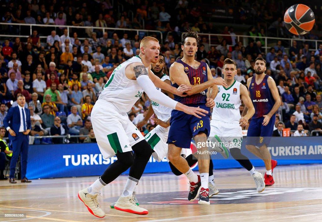 FC Barcelona Lassa v Zalgiris Kaunas - Turkish Airlines EuroLeague
