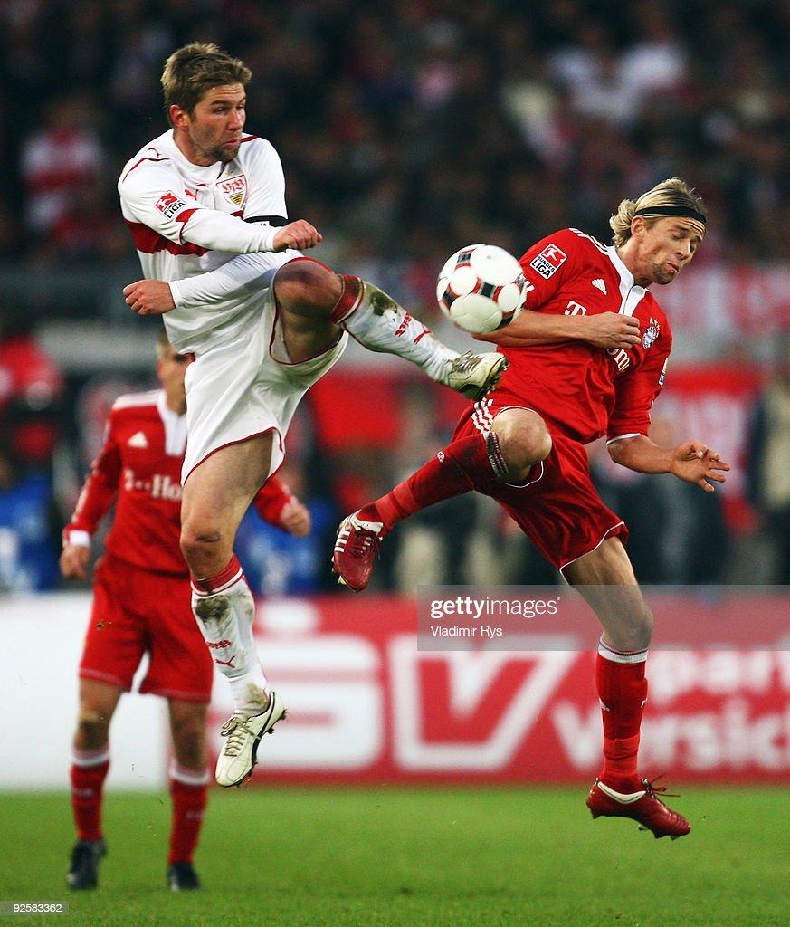 VfB Stuttgart v FC Bayern Muenchen - Bundesliga : ニュース写真