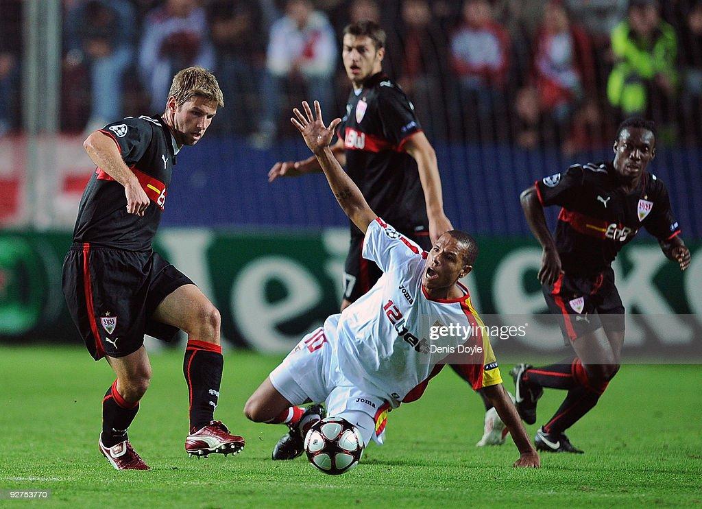 Sevilla v VfB Stuttgart - UEFA Champions League