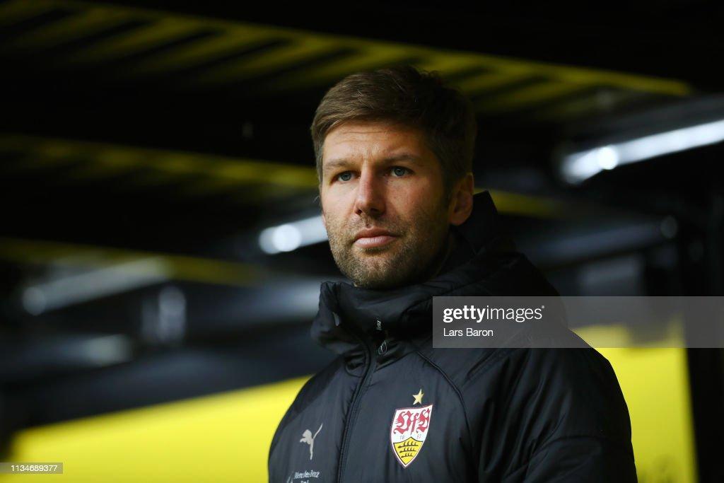 DEU: Borussia Dortmund v VfB Stuttgart - Bundesliga