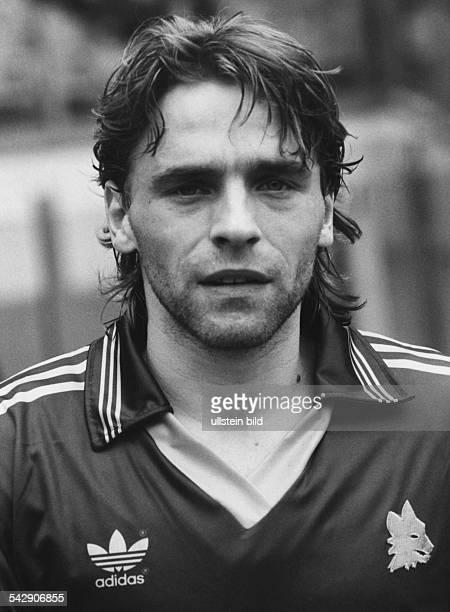 Thomas Häßler Fußballspieler von AS Rom Aufgenommen März 1993