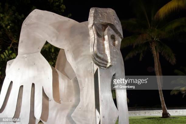 A Thomas Housegao aluminum sculpture
