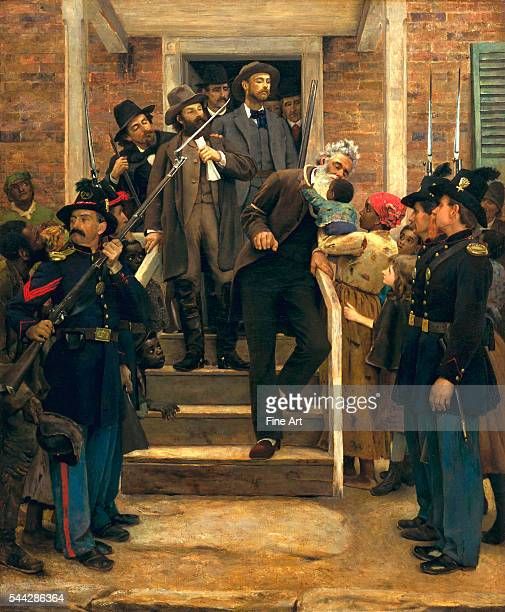 Thomas Hovenden The Last Moments of John Brown c 1884 oil on canvas 1172 x 968 cm De Young Fine Arts Museum of San Francisco