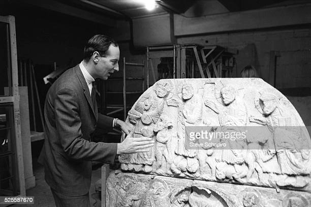 Thomas Hoving Director of the Metropolitan Museum of New York from 1967 to 1977
