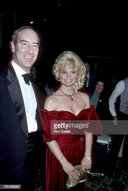 Thomas Hoving Loni Anderson during Sammy Davis Jr Honored At The Candy Man Ball By Temple Beth Am at Beverly Hilton Hotel in Beverly Hills California...