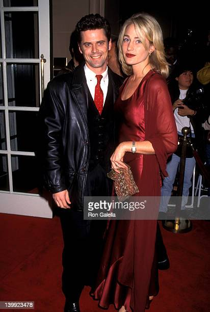 C Thomas Howel and Sylvie Anderson at the Aaron Spelling's Holiday Party Beverly Wilshire Hotel Beverly Hills