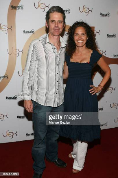 C Thomas Howell and Estee Chandler during American Century Golf Championship Party at Harrah's Casino and Vex Night Club July 16 2006 at Harrah's...