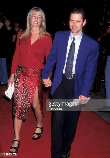C Thomas Howell and Sylvie Anderson at the Premiere of 'Liar Liar' Universal Amphitheatre Universal City