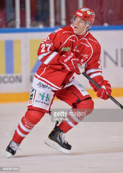 Thomas Hundertpfund During A Hockey Allsvenskan Game In Timra Sweden News Photo Getty Images