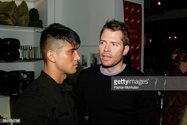 Thomas Hurley and Lincoln Palsgrove attend BoConcept KolDesign Hoilday Party at BoConcept on December 14 2005 in New York City