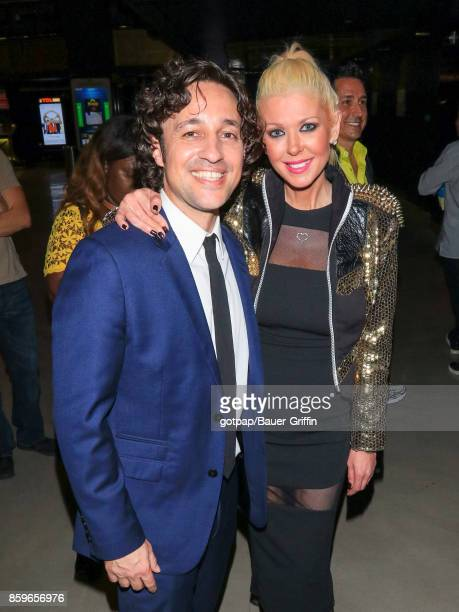 Thomas Ian Nicholas and Tara Reid are seen on October 09 2017 in Los Angeles California