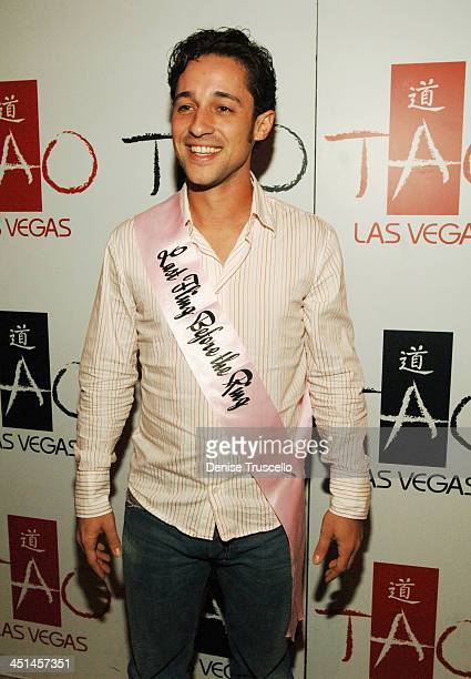 Thomas Ian Nicholas during Raven Symone's 21st Birthday Diner at Tao Asian Bistro at The Venetian Hotel and Casino Resort at Tao Asian Bistro at The...