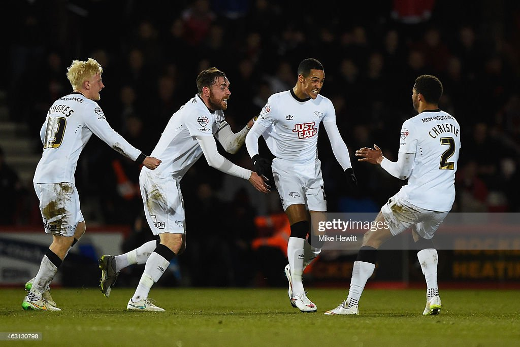 AFC Bournemouth v Derby County - Sky Bet Championship