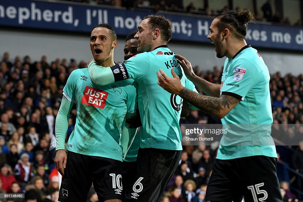 West Bromwich Albion v Derby County - The Emirates FA Cup Third Round : News Photo