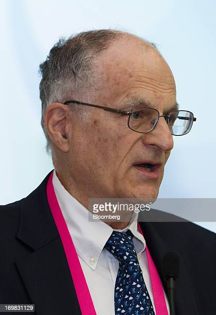 Thomas J Sargent Nobel laureate and professor of economics at New York University speaks during the Bank of Korea International Conference at the...