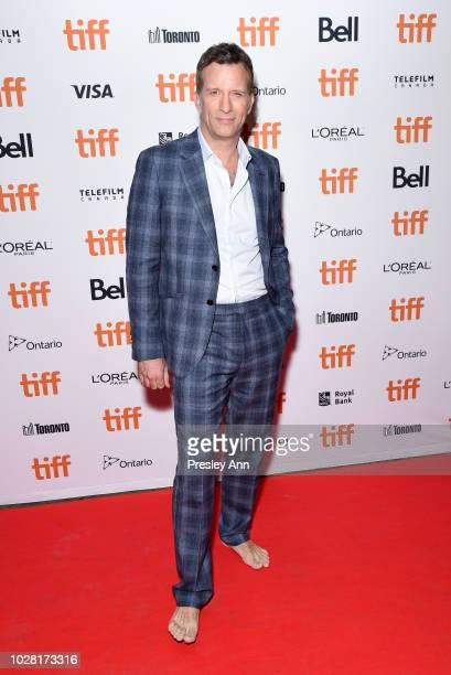 Thomas Jane attends the The Predator premiere during the 2018 Toronto International Film Festival at Ryerson Theatre on September 6 2018 in Toronto...