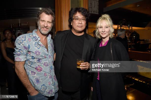 Thomas Jane Bong Joon Ho and Anne Heche at the after party for the Los Angeles Premiere of Parasite on October 02 2019 in Hollywood California