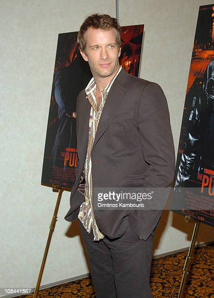 """Thomas Jane during 2004 ShoWest - """"The Punisher"""" Press Conference at Paris Hotel in Las Vegas, Nevada, United States."""
