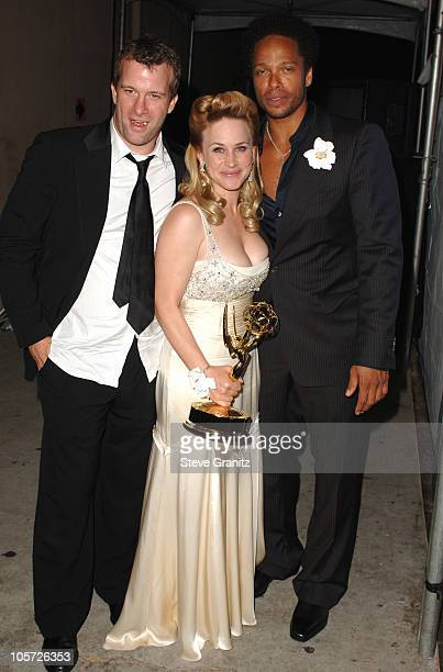Thomas Jane Patricia Arquette and Gary Dourdan during The 57th Annual Emmy Awards Governors Ball at Shrine Auditorium in Los Angeles California...
